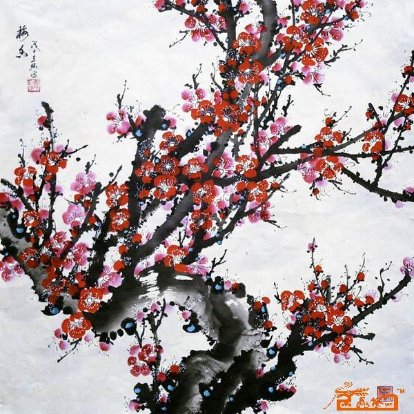 水墨画梅-※ 娜阑 对本帖进行了 加入精华 操作 2011-1-17 14:03