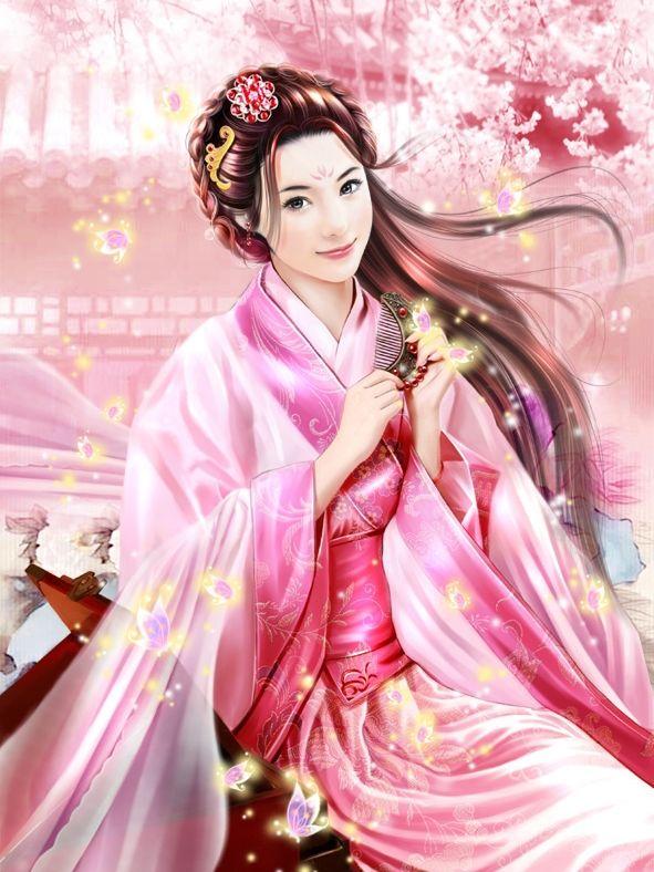 后宫嫔妃手绘图